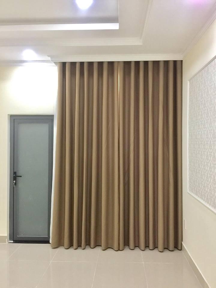 Màu sắc bộ rèm cửa thi công nhà chị Hạnh