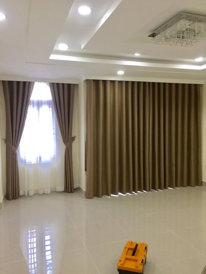 Màu sắc bộ rèm cửa nhà chị Hạnh (Q.Thủ Đức)