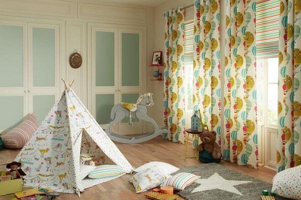 cách chọn rèm phòng ngủ cho bé