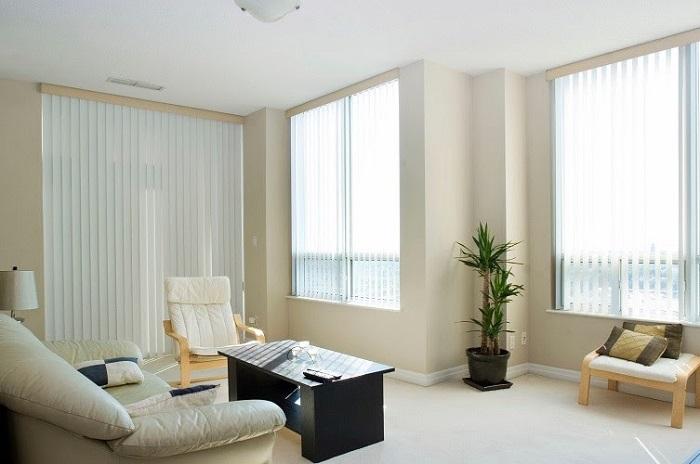 mẫu rèm cửa phòng khách căn hộ chung cư