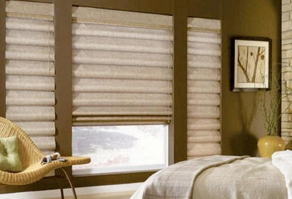 rèm roman cho phòng ngủ đẹp
